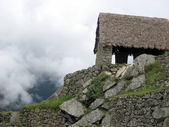 Ancient Guardhouse of Machu Picchu — Stock Photo