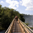 Catwalk of Iguazu — Stock Photo