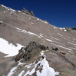 Stock Photo: Ascending Aconcagua