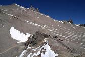 Ascending Aconcagua — Stock Photo