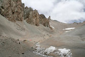 Ascending Aconcagua — Stock Photo