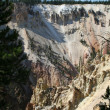 Yellowstone Cliffs — Stock Photo