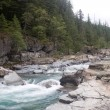 Stock Photo: McDonald Creek in Glacier National Park