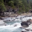 McDonald Creek in Glacier National Park — Stock Photo