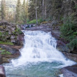 Saint Mary Falls, Glacier National Park — 图库照片