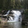 Saint mary falls, glacier Nationaalpark — Stockfoto