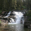 Stock Photo: Saint Mary Falls, Glacier National Park