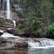 Virginia falls, parc national des glaciers — Photo