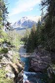 Saint Mary Falls, Glacier National Park — Stock Photo