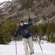 Stock Photo: Snowshoeing - Montana