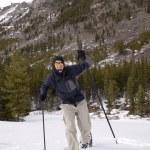 Snowshoeing - Montana — Stock Photo #2812743