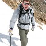 Alpine Climbing - Montana — Stock Photo