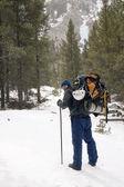 Mountaineering - Montana — Stock Photo
