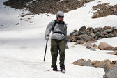 Alpine Mountaineering — Stock Photo