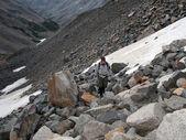 Mountaineering - Montana Wilderness — Stock Photo