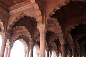 Red Fort (Lal Qil'ah) in Delhi — Stock Photo