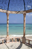 Caribbean Gazebo — Stock Photo
