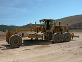 Earth Grader — Stock Photo