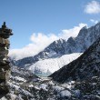 Buddhist Chorten - Himalayas — Stock Photo