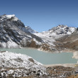 Stock Photo: Gokyo Fifth Lake - NgozumbTsho