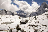 Cho La Pass - Nepal — Stock Photo