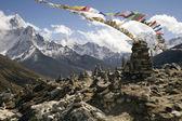 Chukpilhara památníky - nepál — Stock fotografie
