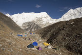 Island Peak Base Camp - Nepal — Stock Photo
