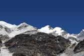 Island peak vysoké tábor - nepál — Stock fotografie