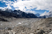 Khumbu Glacier — Stock Photo