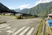 Lukla Airstrip, Nepal — Stock Photo