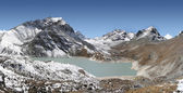 Gokyo Fifth Lake - Ngozumba Tsho — Stock Photo