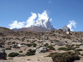 Taboche Peak - Nepal — Stock Photo
