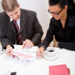 Business man and woman — Stock Photo #2730050