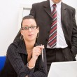 Stock Photo: Business mand woman