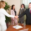 Stock Photo: Business handshake
