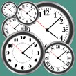 clocks — Stock Vector #2812449