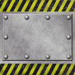 Stock Photo: Grunge Metal Background