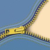 Zipper Background — Stock Photo