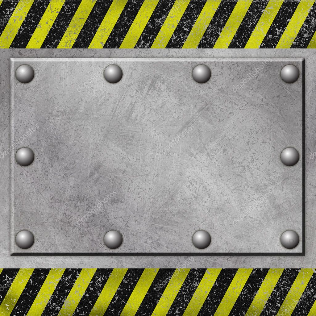 A Grunge Metal Background with Rivets — Stock Photo #2944170