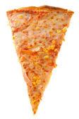 Piece of pizza — Stock Photo