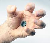 Stare monety rzymskie — Zdjęcie stockowe
