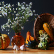 Still-life with vegetables - Stock Photo