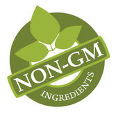 Non-GM Label — Stock Vector