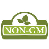 Non-GM Label two — Stock Vector