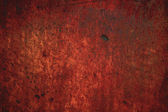 Red rusty metal background — Stock Photo