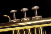 Trumpet Keys — Stock Photo