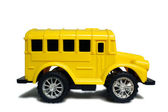 Yellow school bus toy — Stock Photo