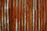 Rust stained metal background — Stock Photo