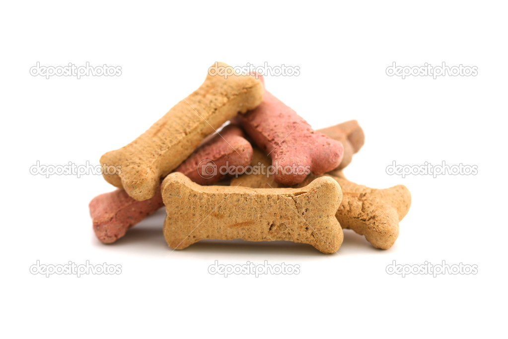 Dog treats background