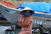 Vietnamese woman — Stock Photo
